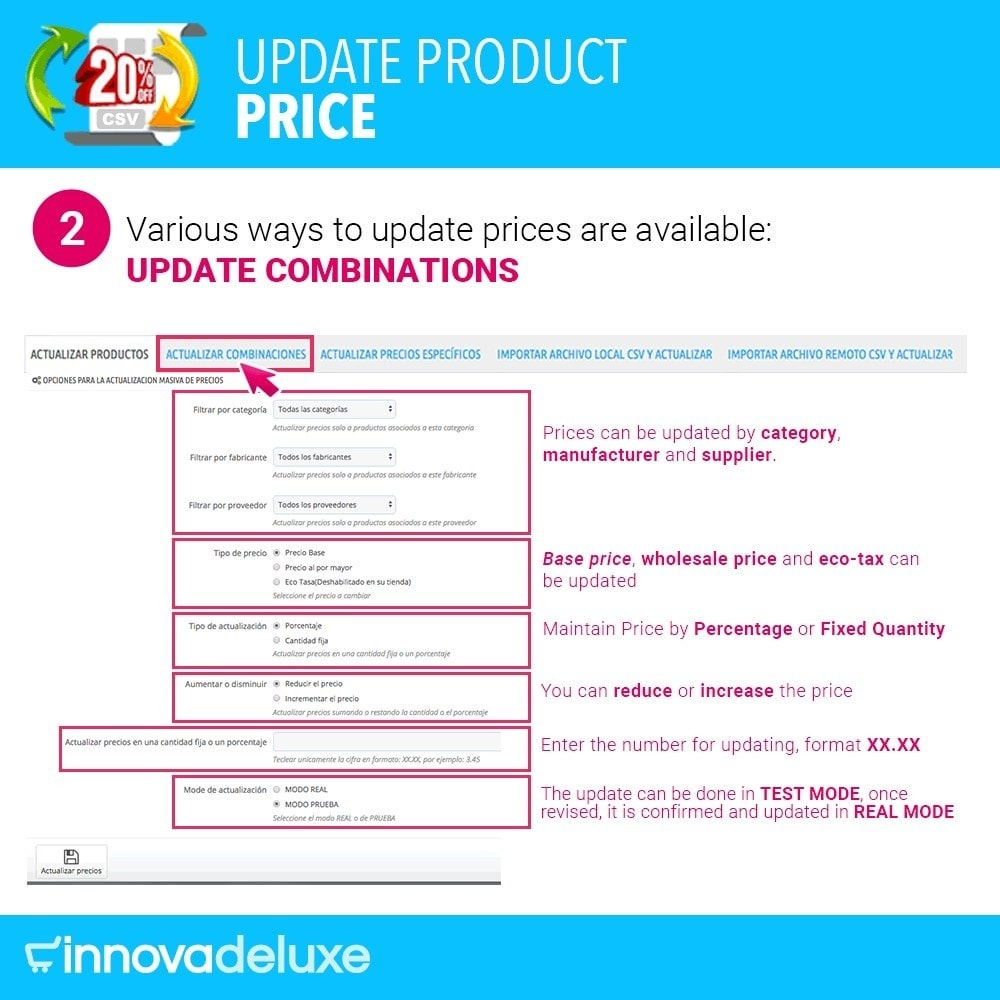 module - Fast & Mass Update - Product Price Updater - 3