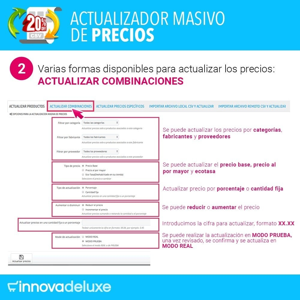module - Edición Rápida y Masiva - Actualizador masivo de precios - 3