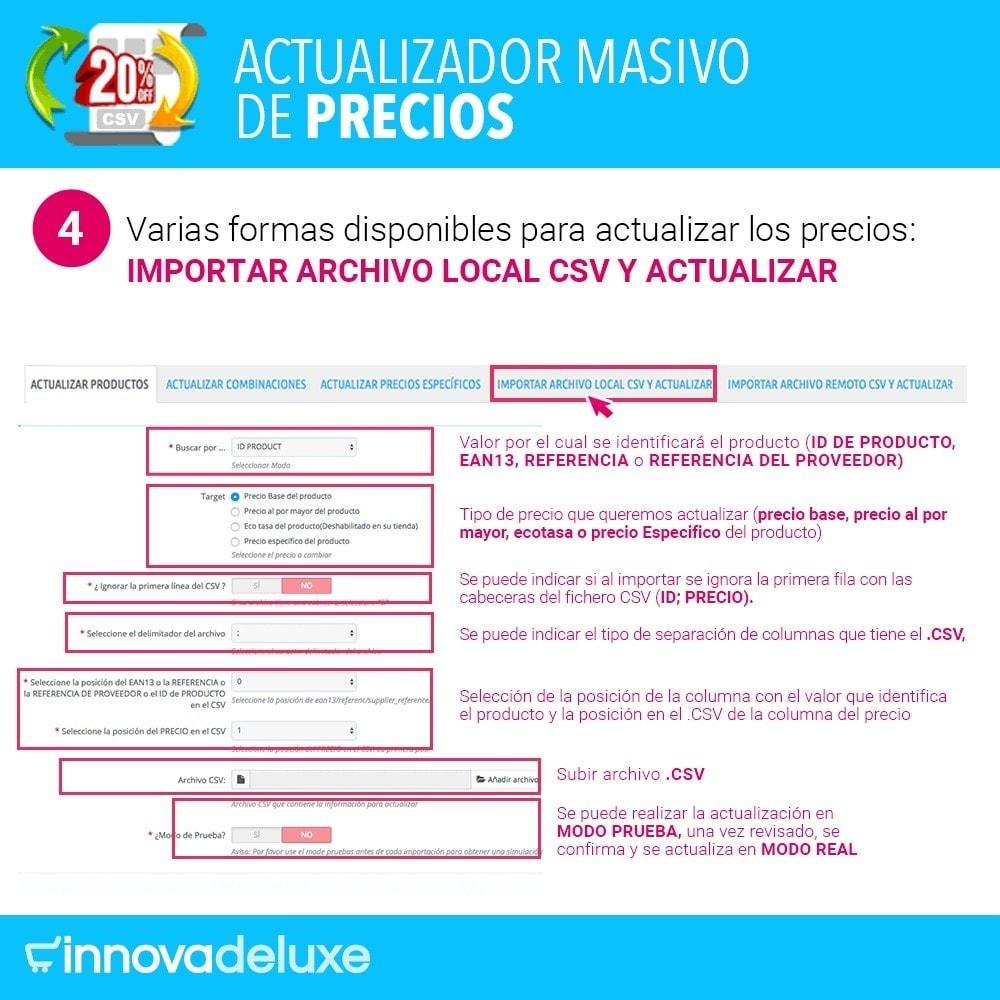 module - Edición Rápida y Masiva - Actualizador masivo de precios - 5