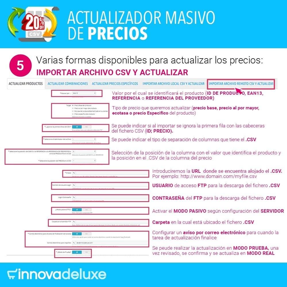 module - Edición Rápida y Masiva - Actualizador masivo de precios - 6