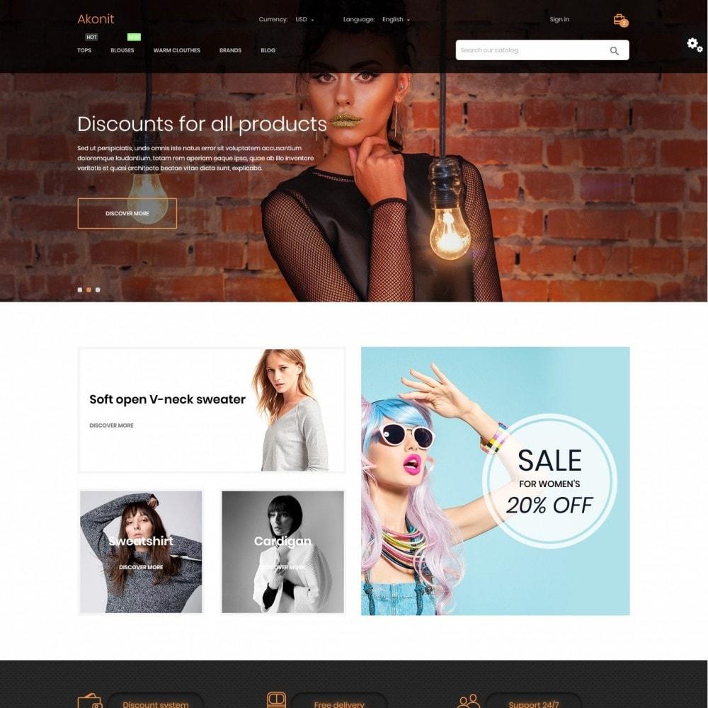 theme - Fashion & Shoes - Akonit Fashion Store - 2