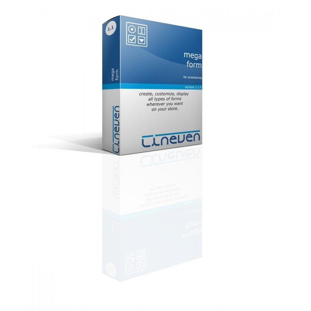 module - Formulario de contacto y Sondeos - Forms builder - Customizable & Threads - 1