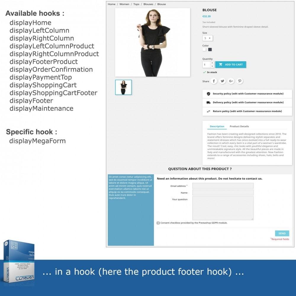 module - Formularz kontaktowy & Ankiety - Forms builder - Customizable & Threads - 3