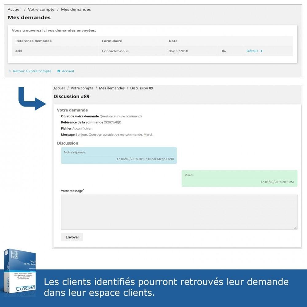 module - Formulaires de Contact & Sondages - Générateur de formulaires avancés & Fils de discussions - 8