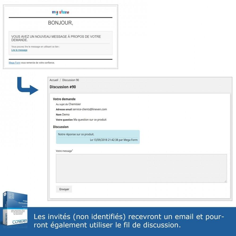 module - Formulaires de Contact & Sondages - Générateur de formulaires avancés & Fils de discussions - 9