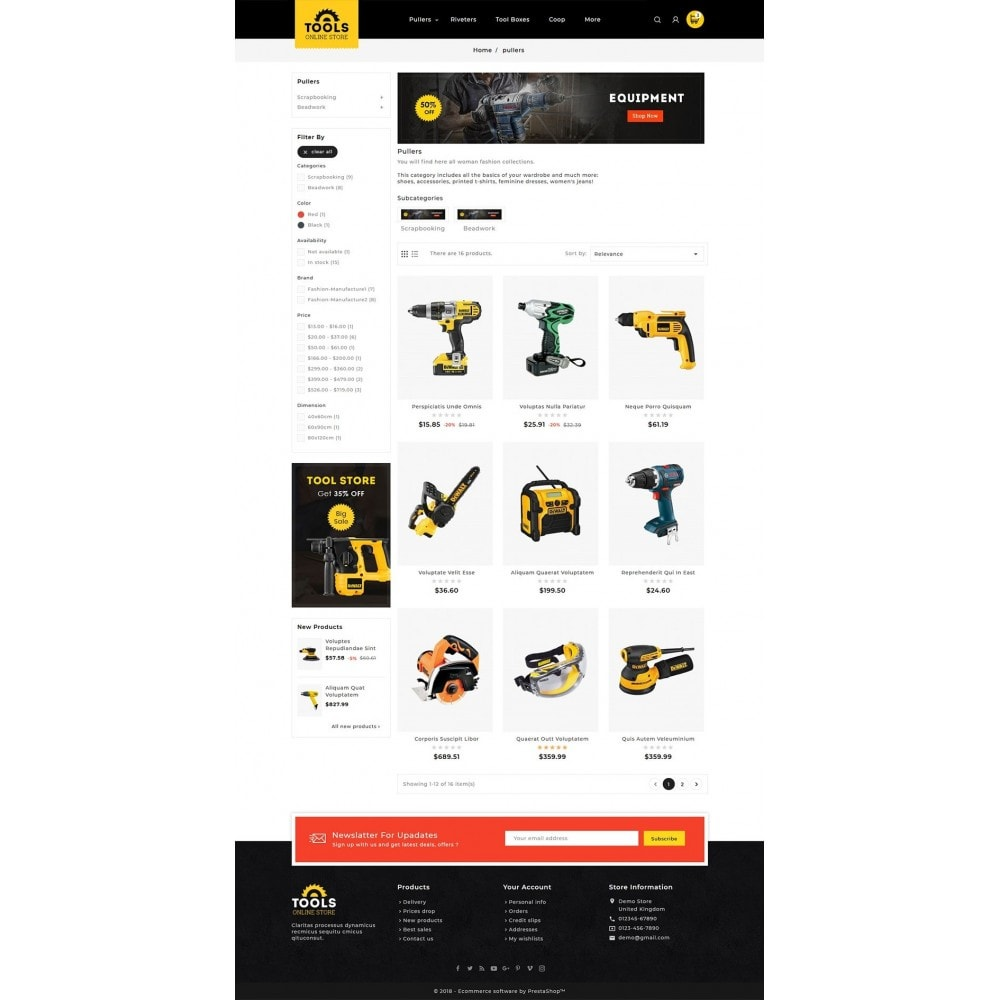 theme - Hogar y Jardín - Tools Equipment - 5
