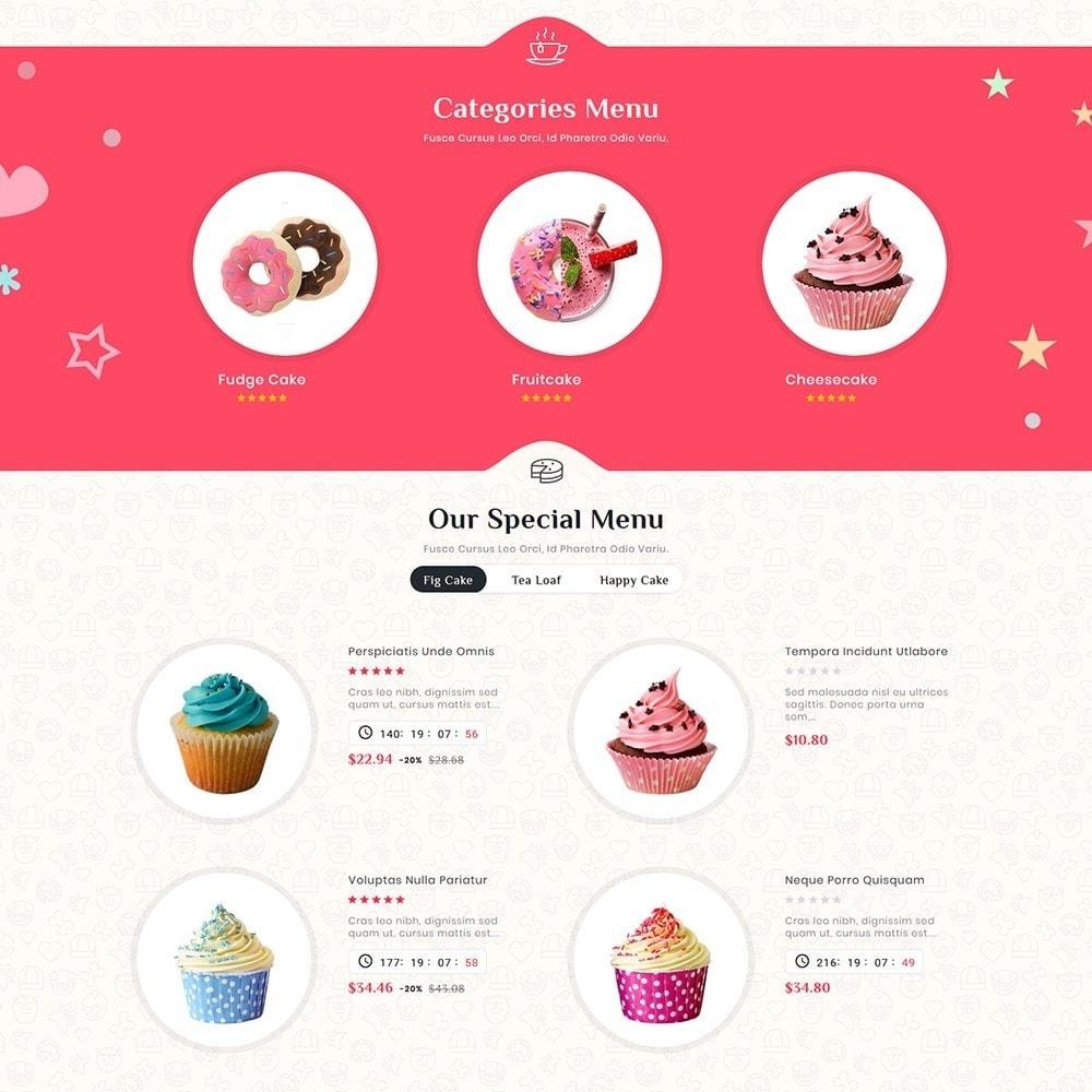 theme - Подарки, Цветы и праздничные товары - Cakery - Bakery Shop - 3