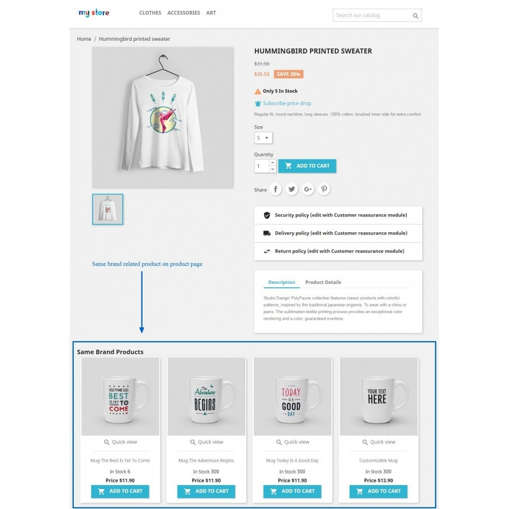 module - Marche & Produttori - Brand related products on product page - 4