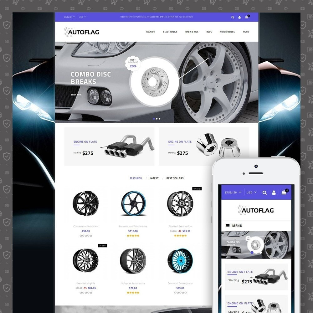 theme - Autos & Motorräder - AutoFlag Store - 1
