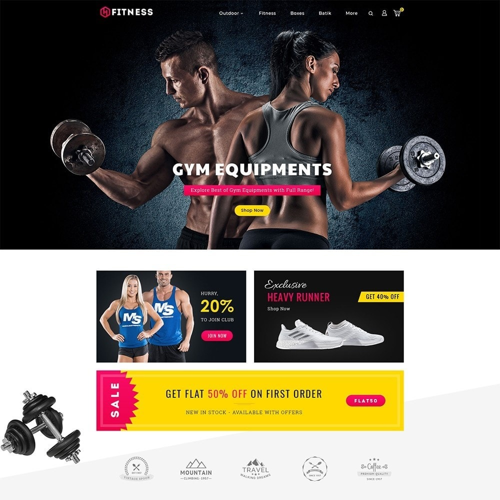 theme - Sport, Aktivitäten & Reise - Fitness Club - 2