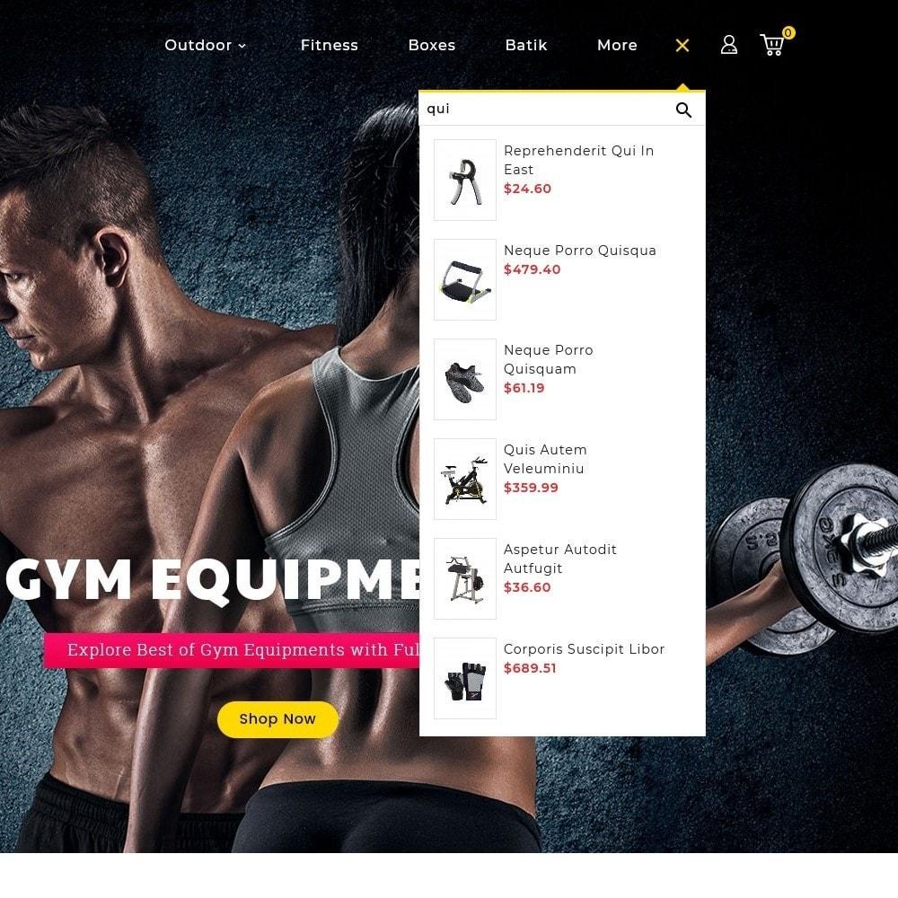 theme - Sport, Aktivitäten & Reise - Fitness Club - 12