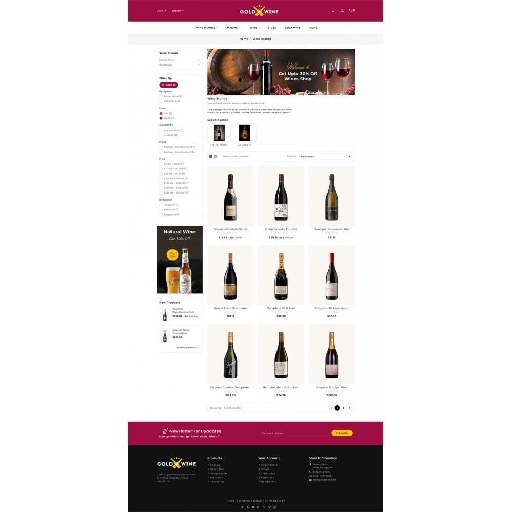 theme - Napoje & Wyroby tytoniowe - Gold Wine Store - 5