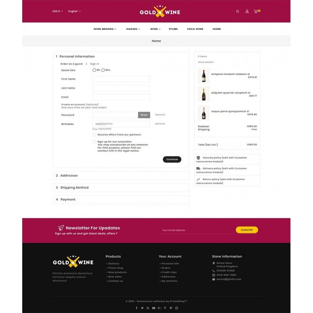 theme - Napoje & Wyroby tytoniowe - Gold Wine Store - 9