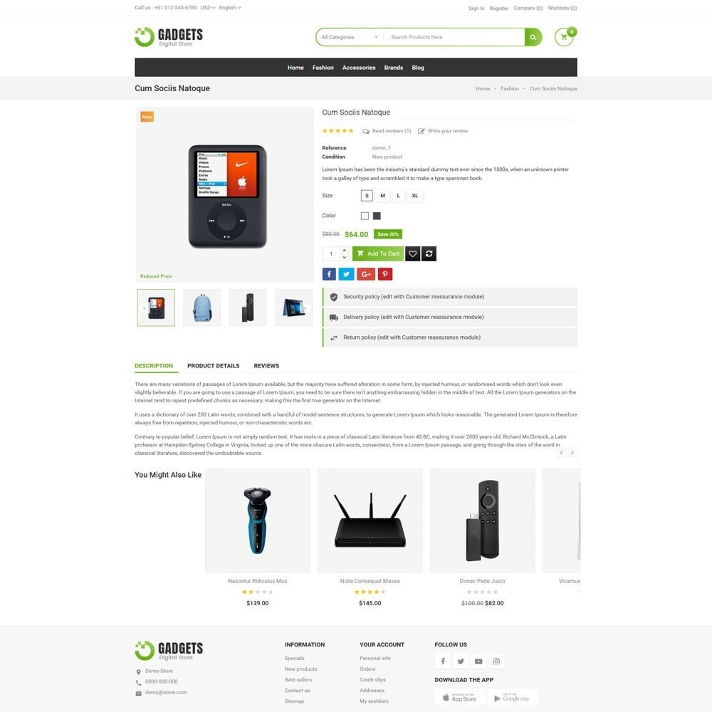 theme - Elektronica & High Tech - Gadgets Digital Store - 5