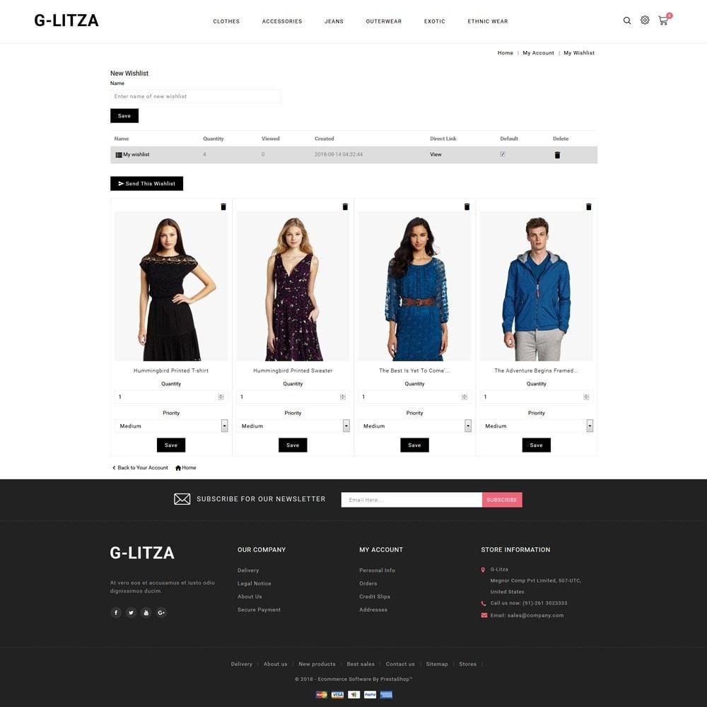 theme - Fashion & Shoes - G-Litza Fashion Store - 10