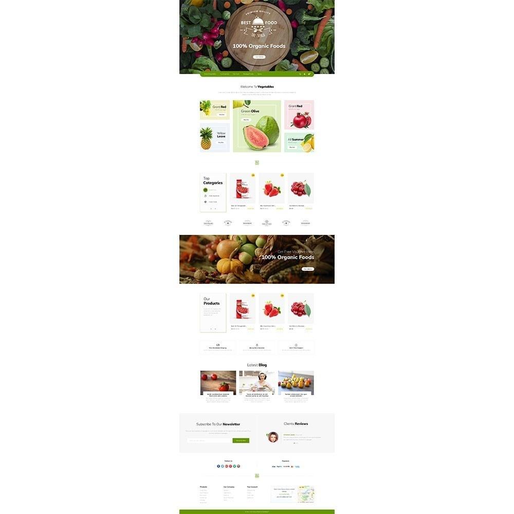 theme - Alimentos & Restaurantes - Best Food Store - 2