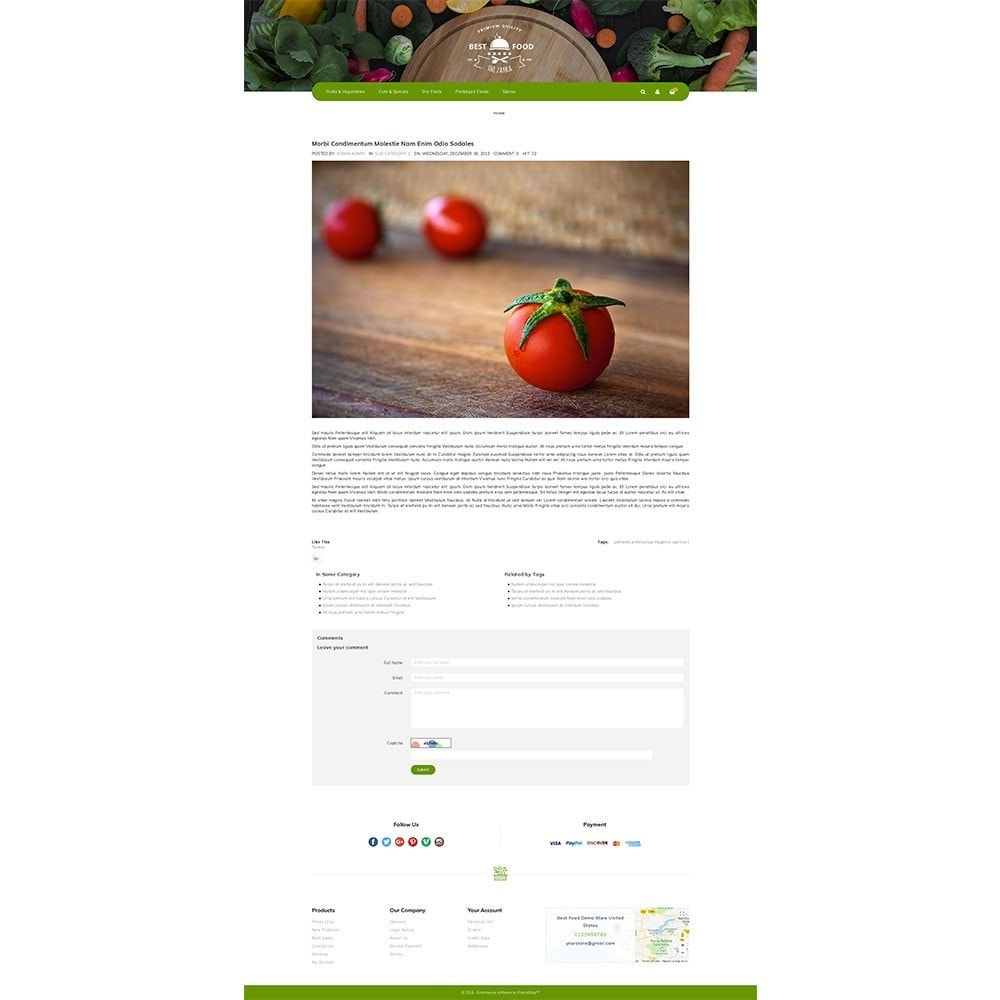 theme - Alimentos & Restaurantes - Best Food Store - 6