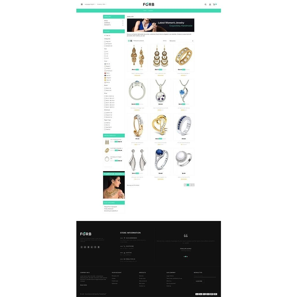 theme - Jewelry & Accessories - Forb Store - 3