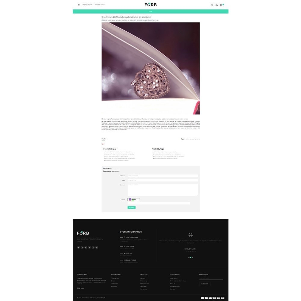 theme - Joalheria & Acessórios - Forb Store - 6