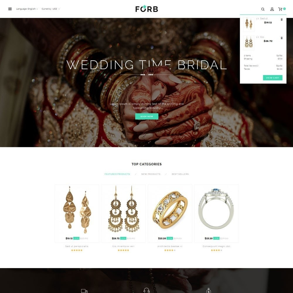 theme - Jewelry & Accessories - Forb Store - 8