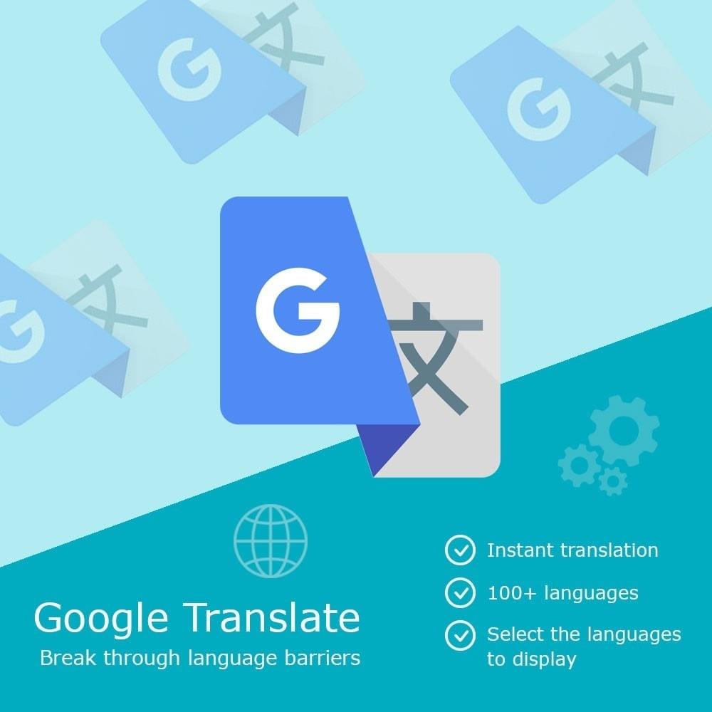 module - Międzynarodowość & Lokalizacja - Google Translate Block - 1