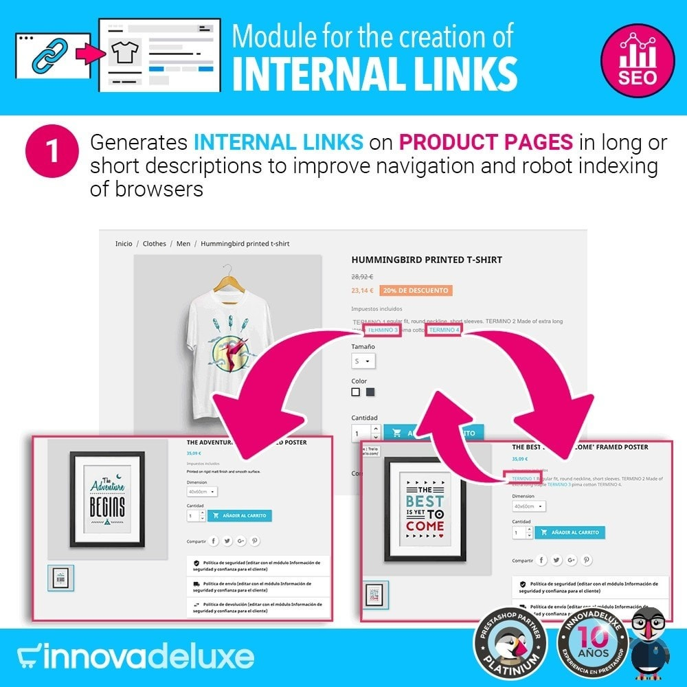 module - SEO - Automatic internal link generation for SEO - 2