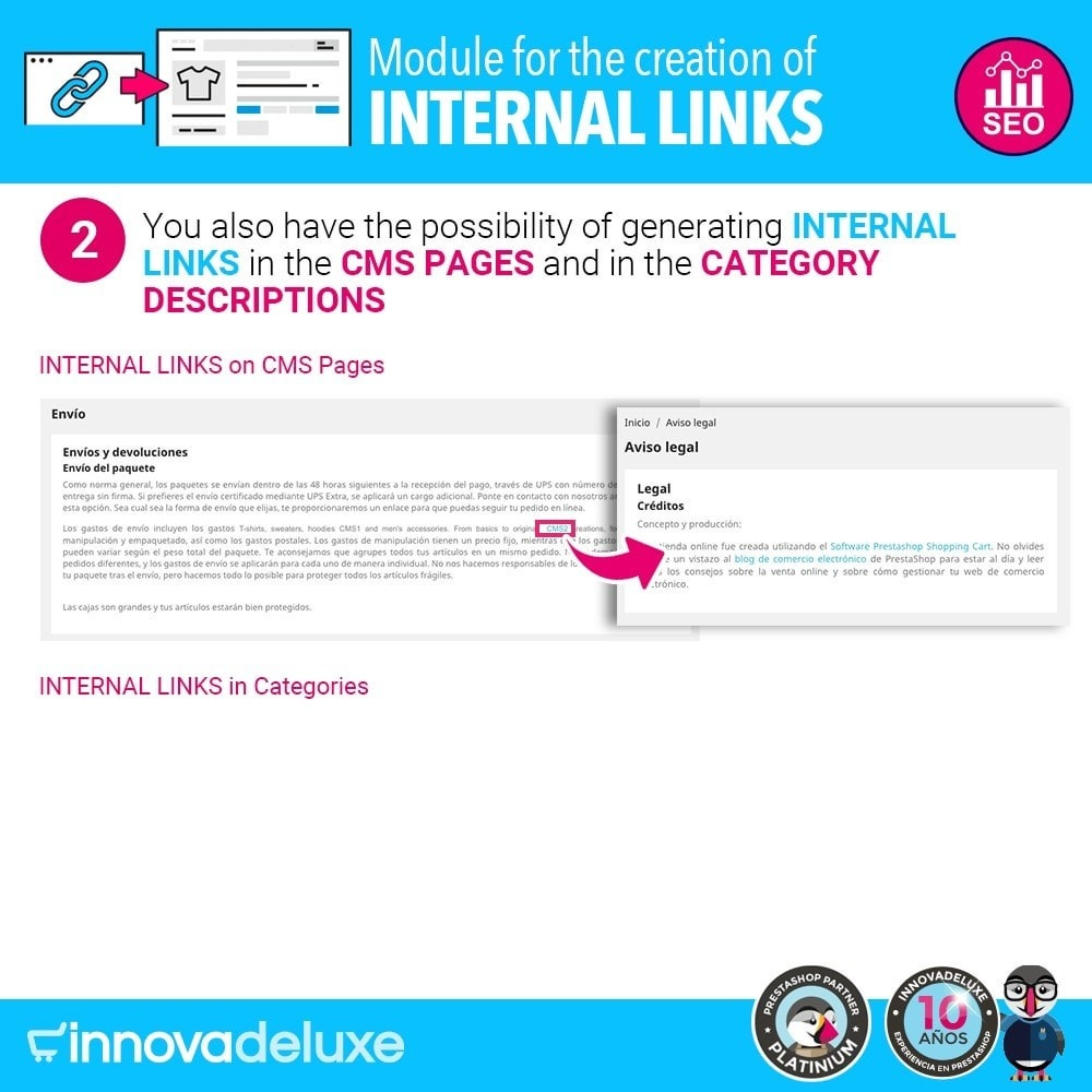 module - SEO - Automatic internal link generation for SEO - 3