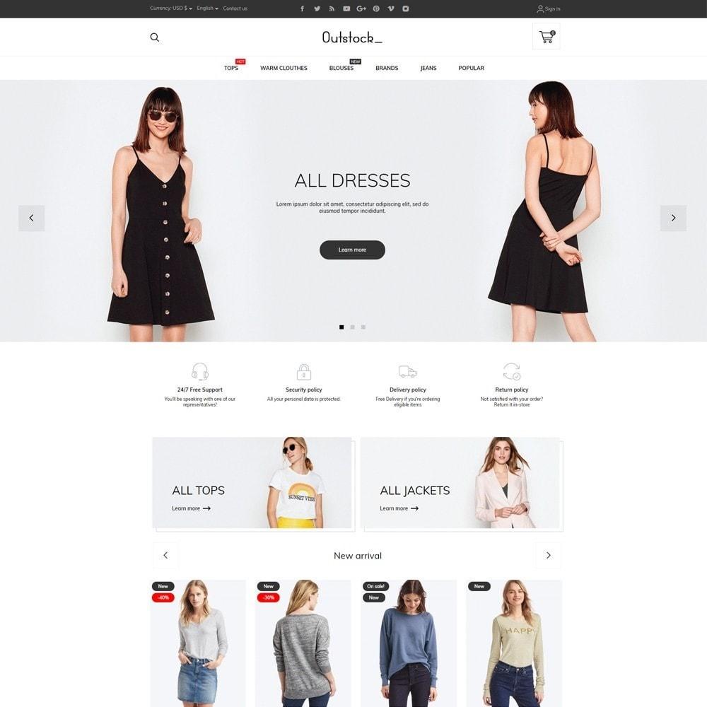 theme - Fashion & Shoes - Outstock Fashion Store - 2