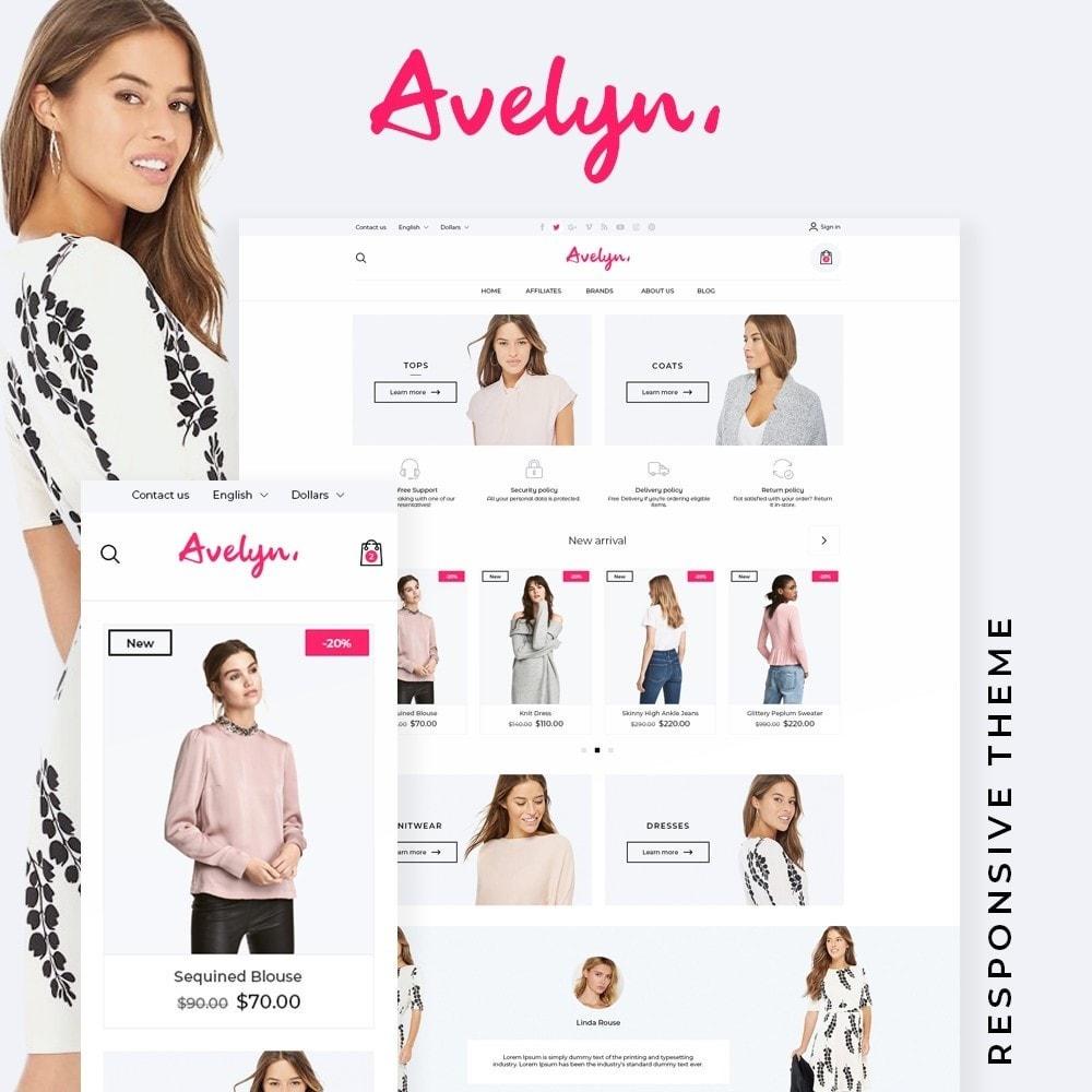 theme - Fashion & Shoes - Avelyn Fashion Store - 1