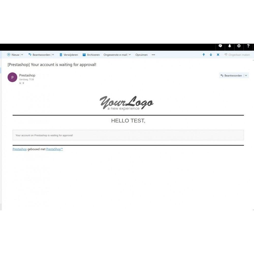 module - Управления учетными записями клиентов - Customer Activation Pro + (verification upload option) - 4