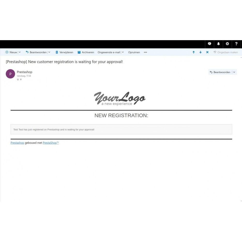 module - Sicherheit & Brechtigungen - Customer Activation Pro + (verification upload option) - 5