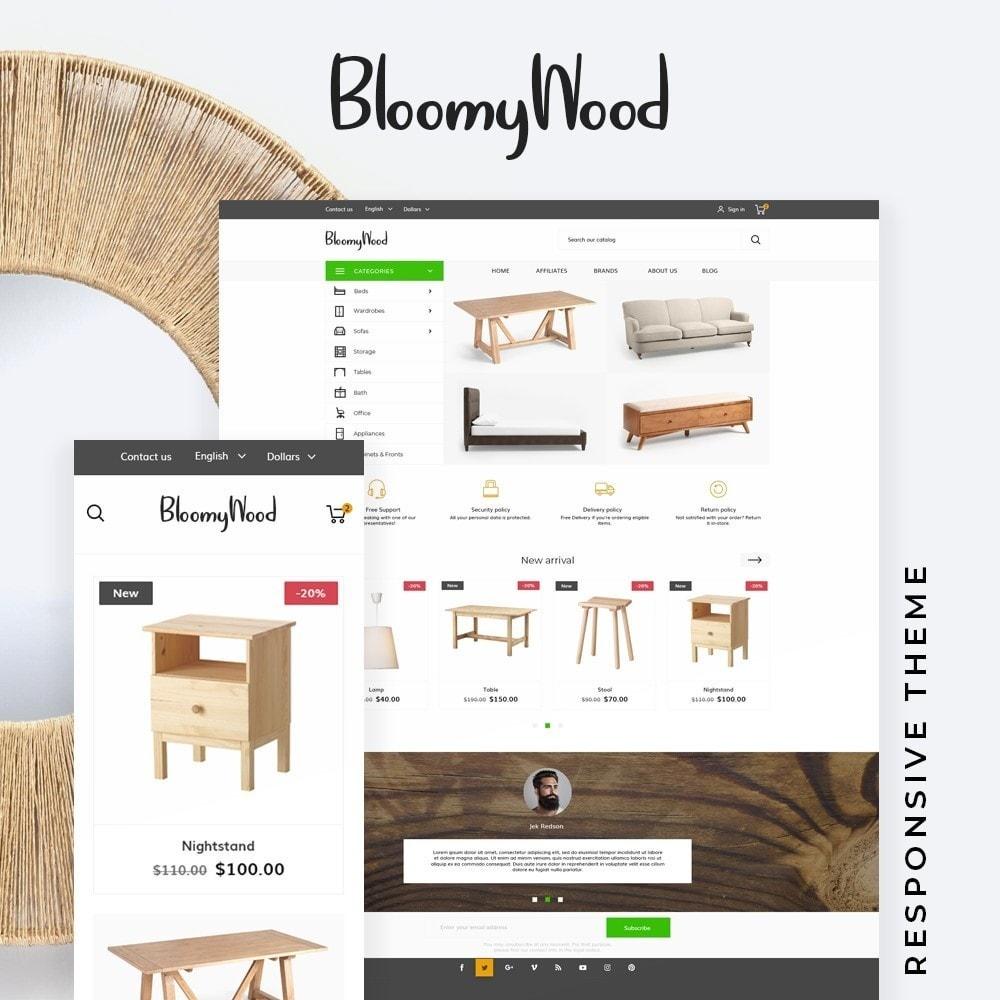 theme - Home & Garden - Bloomy Wood - 1