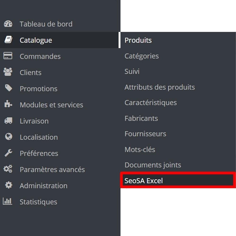 module - Import & Export de données - Module Importer un produit à partir de Microsoft Excel - 9
