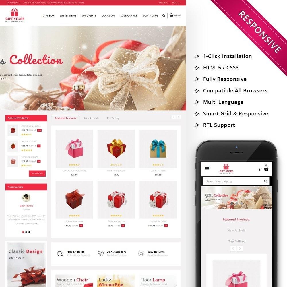 theme - Cadeaux, Fleurs et Fêtes - Giftstore - The Gift Shop - 1