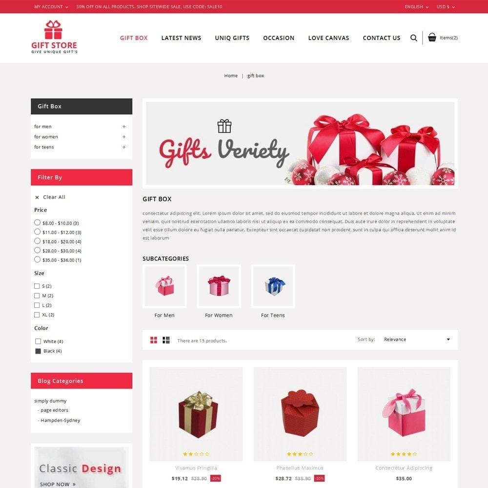 theme - Cadeaux, Fleurs et Fêtes - Giftstore - The Gift Shop - 4