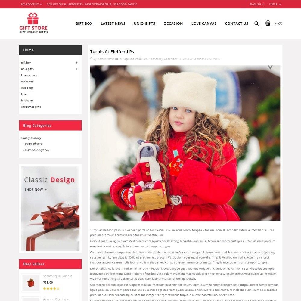theme - Cadeaux, Fleurs et Fêtes - Giftstore - The Gift Shop - 7