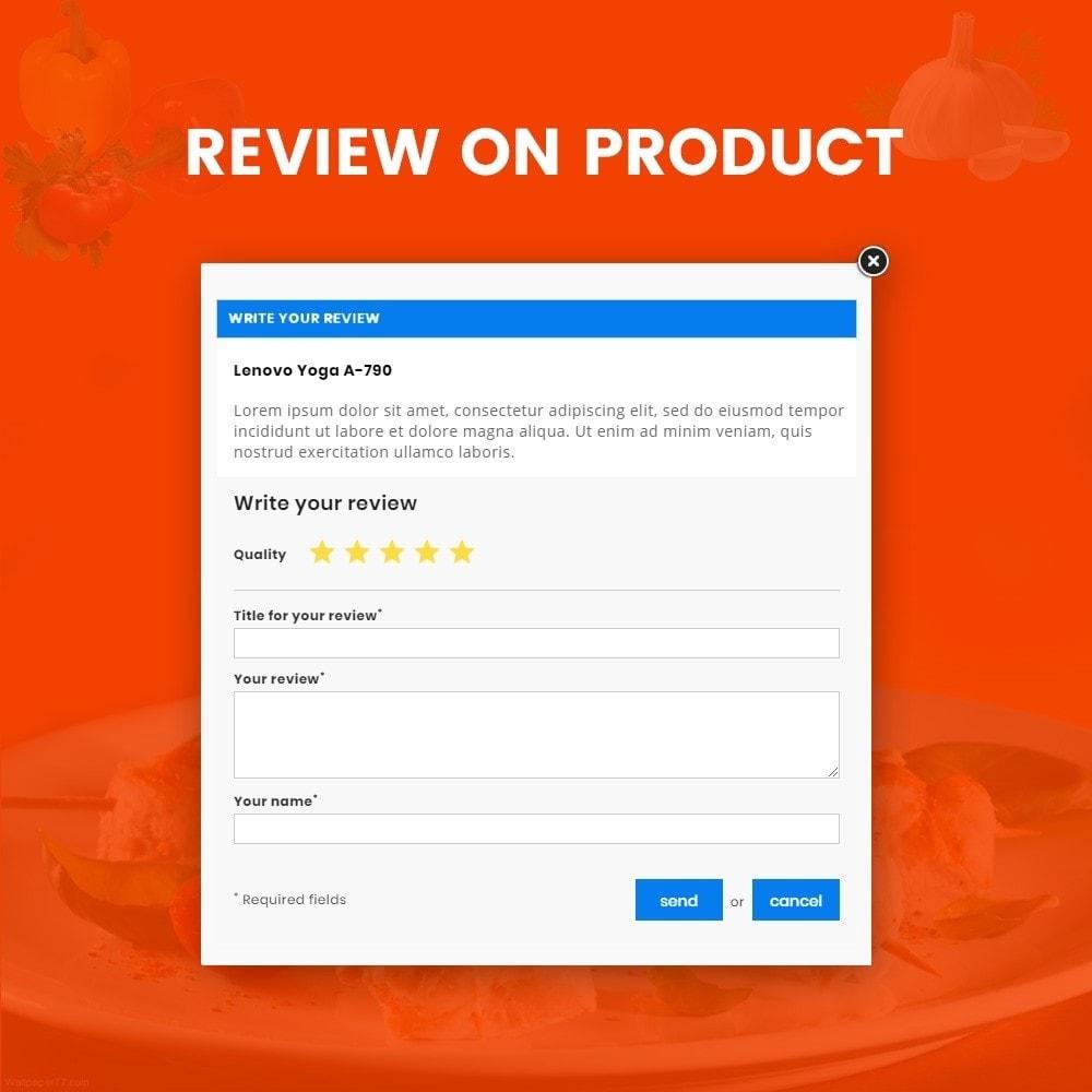 theme - Alimentos & Restaurantes - Foodza - Fast Food Super Store - 12