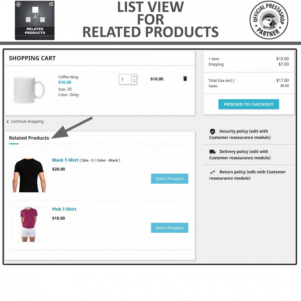 module - Cross-selling & Product Bundles - Related Products, Responsive Similar Products Carousel - 5
