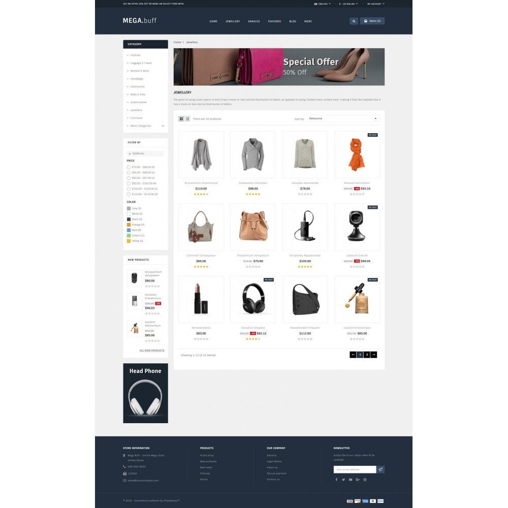 theme - Fashion & Shoes - Mega Buff - Multi purpose store - 4