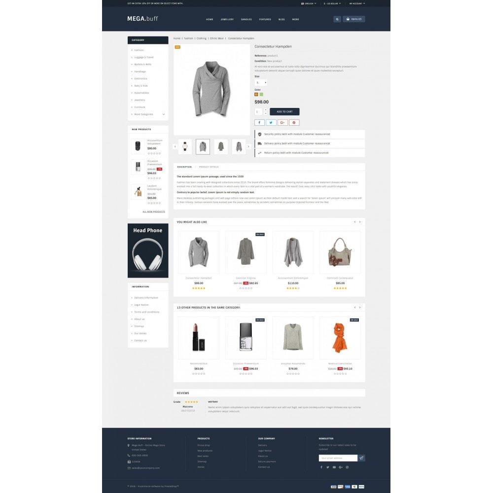 theme - Fashion & Shoes - Mega Buff - Multi purpose store - 5