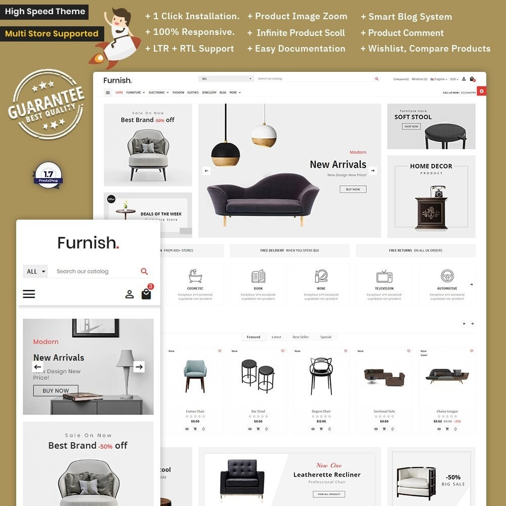 theme - Home & Garden - Furnish – Furniture Mega Store - 1