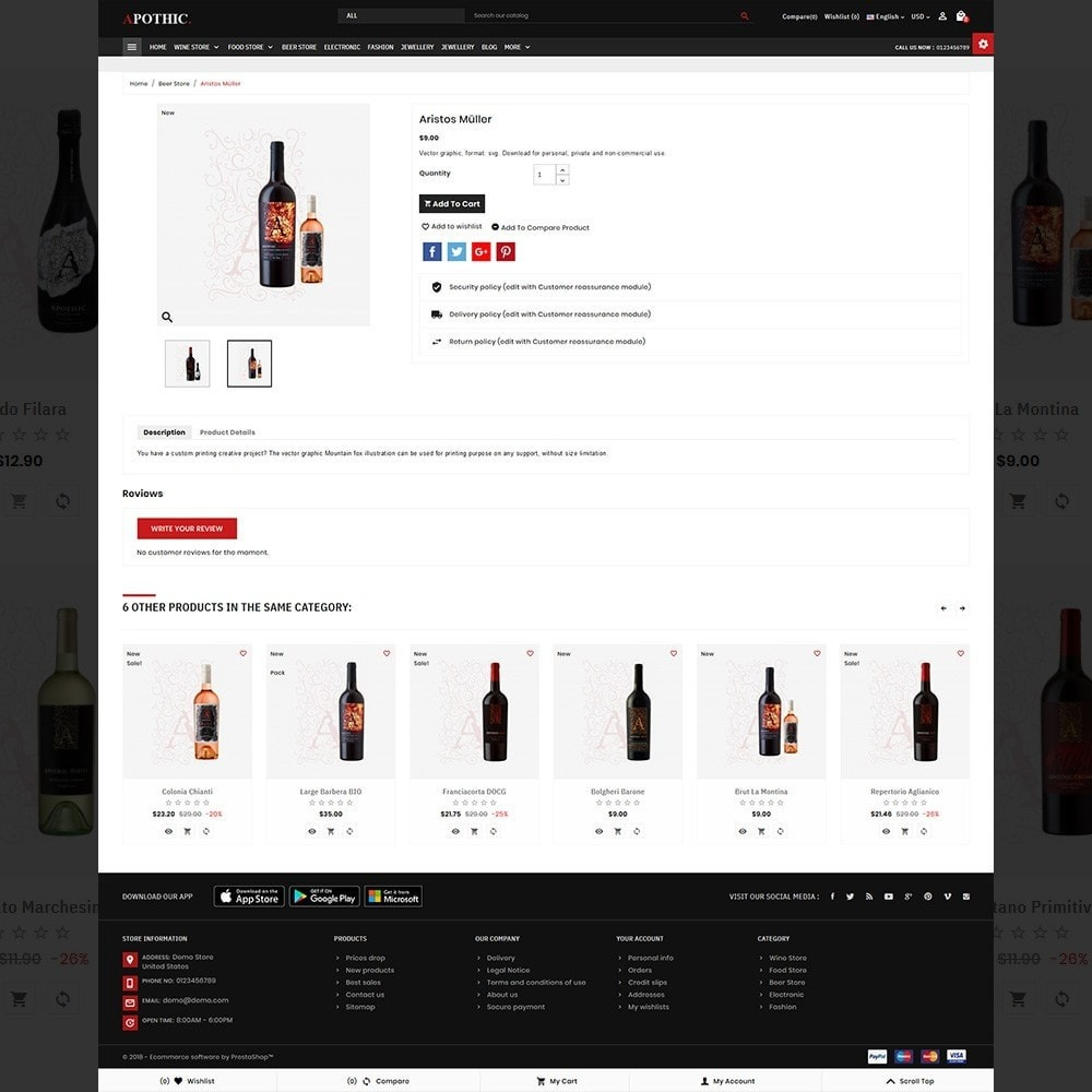 theme - Drink & Wine - Apothic– Wine Mega Shop - 5