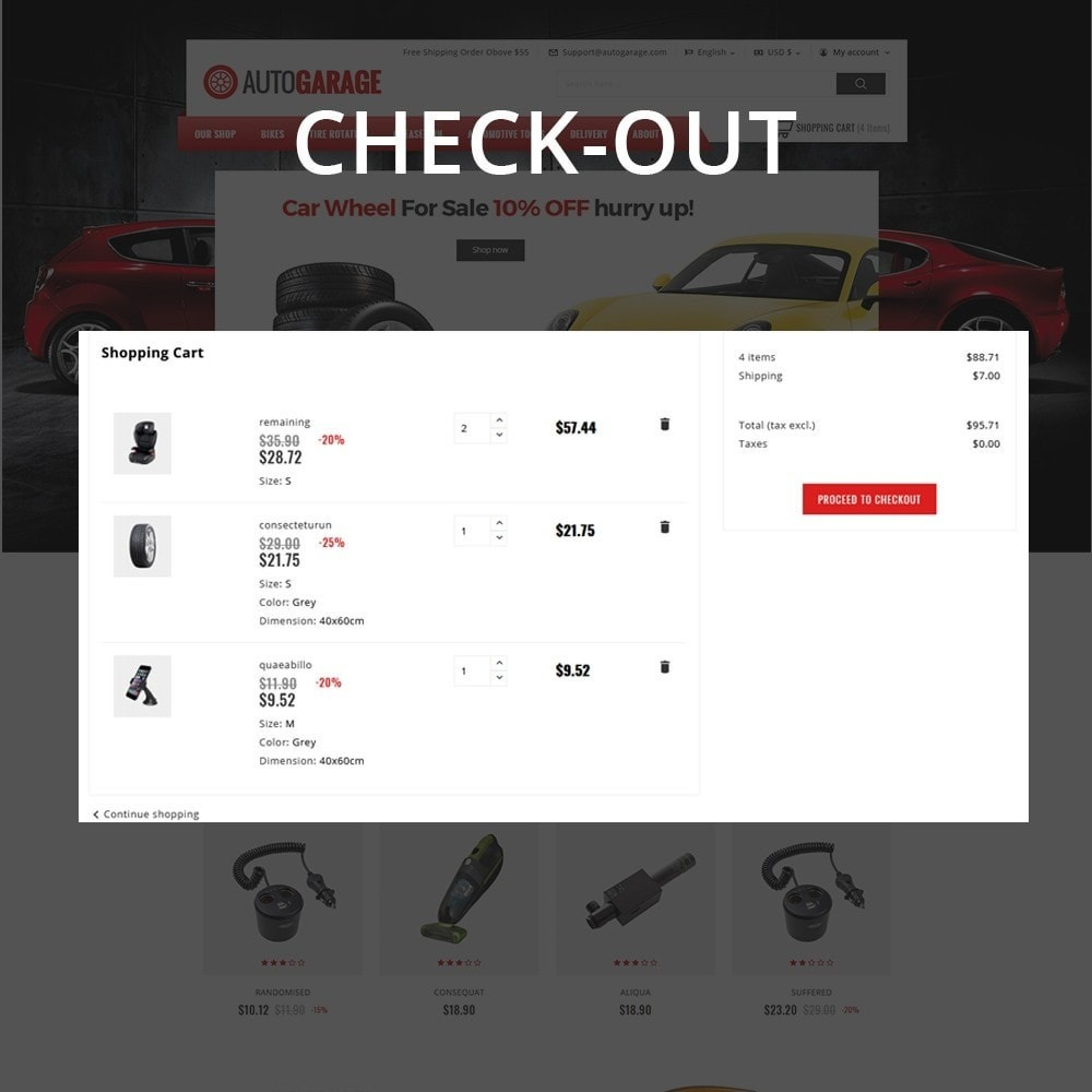 theme - Carros & Motos - Autogarage - The Automobile Shop - 10