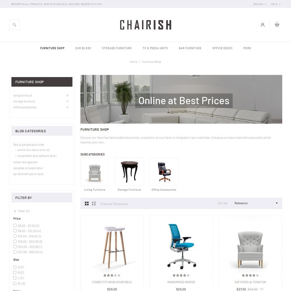 theme - Home & Garden - Chairish - The Furniture Store - 4