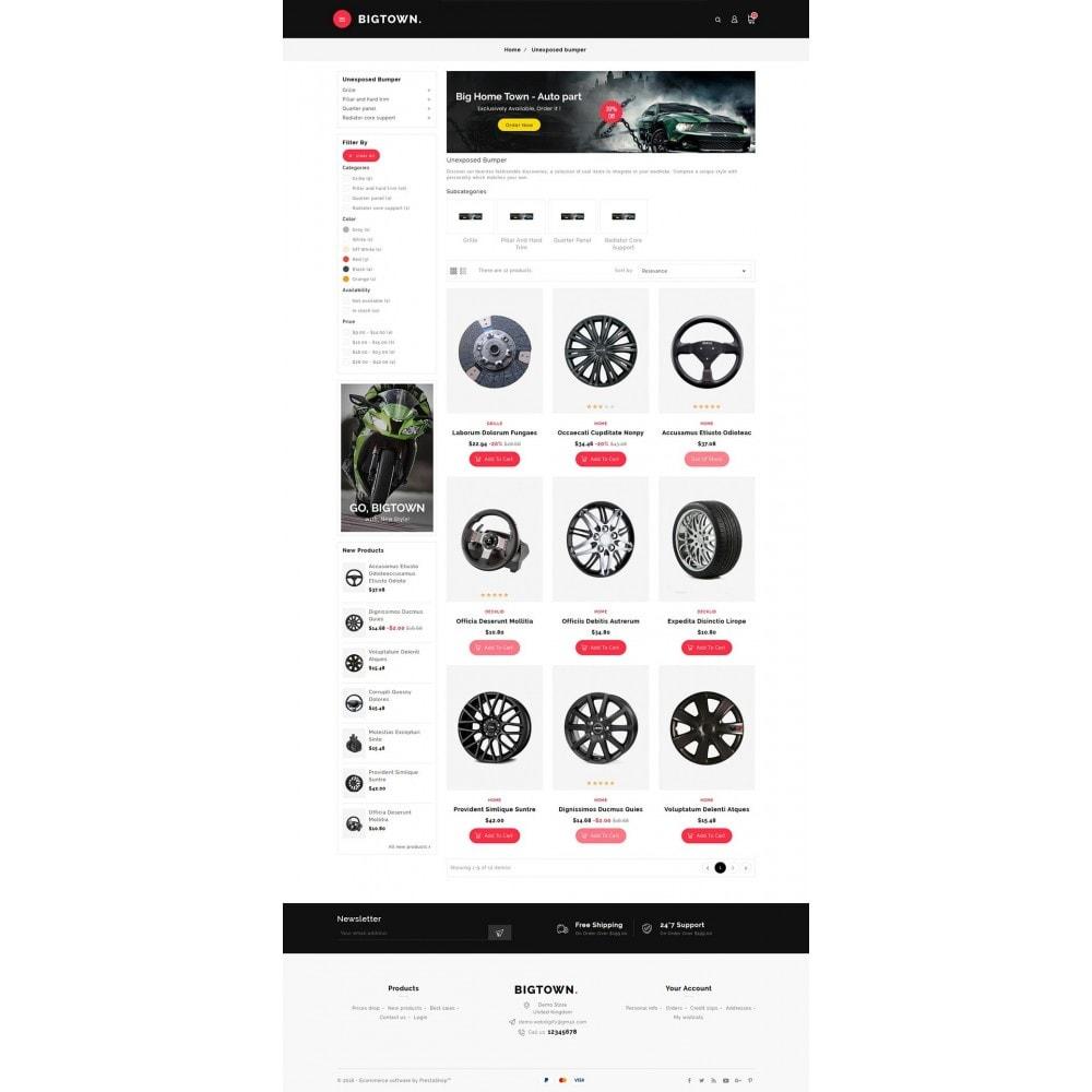 theme - Automotive & Cars - BigTown Auto Parts - 3