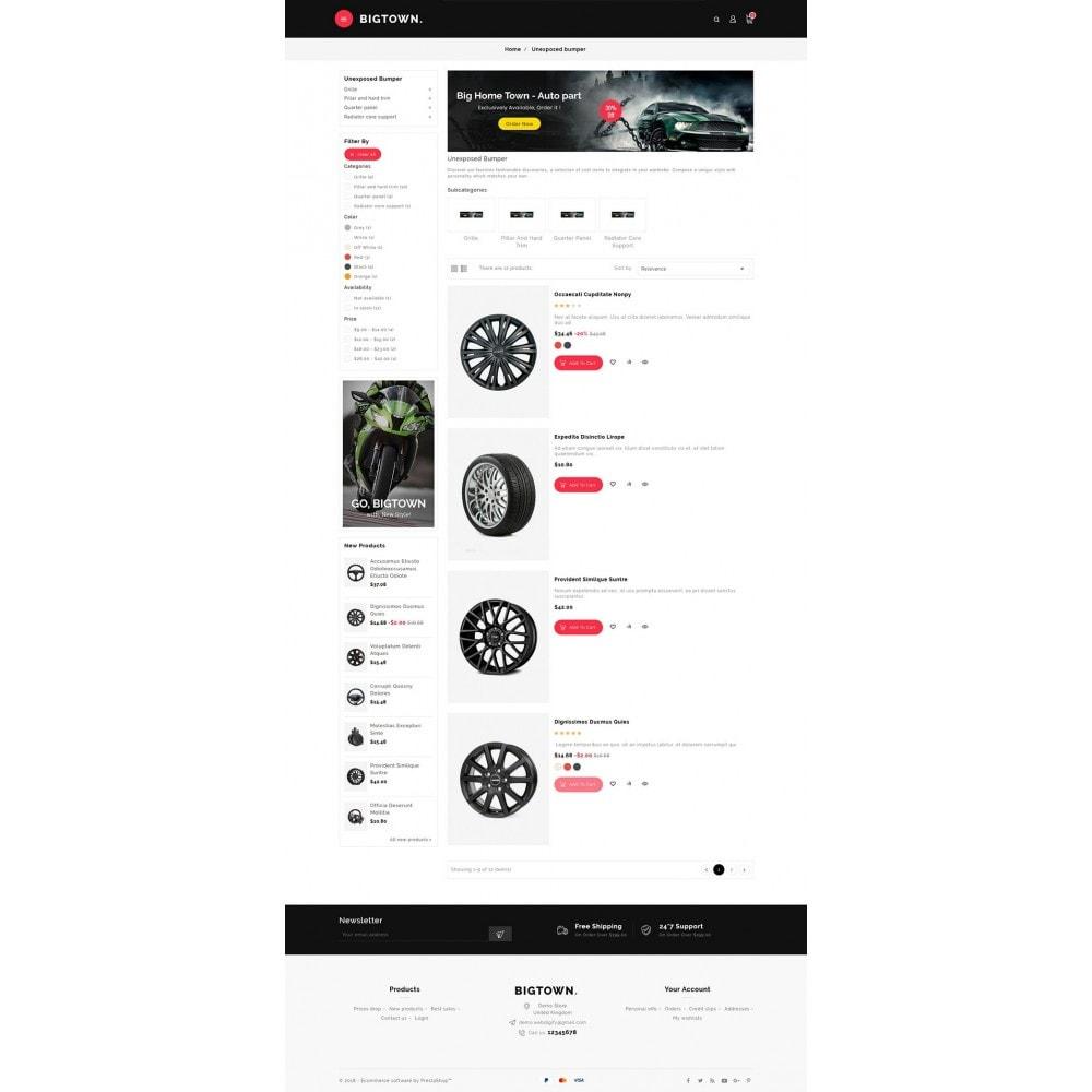 theme - Automotive & Cars - BigTown Auto Parts - 4