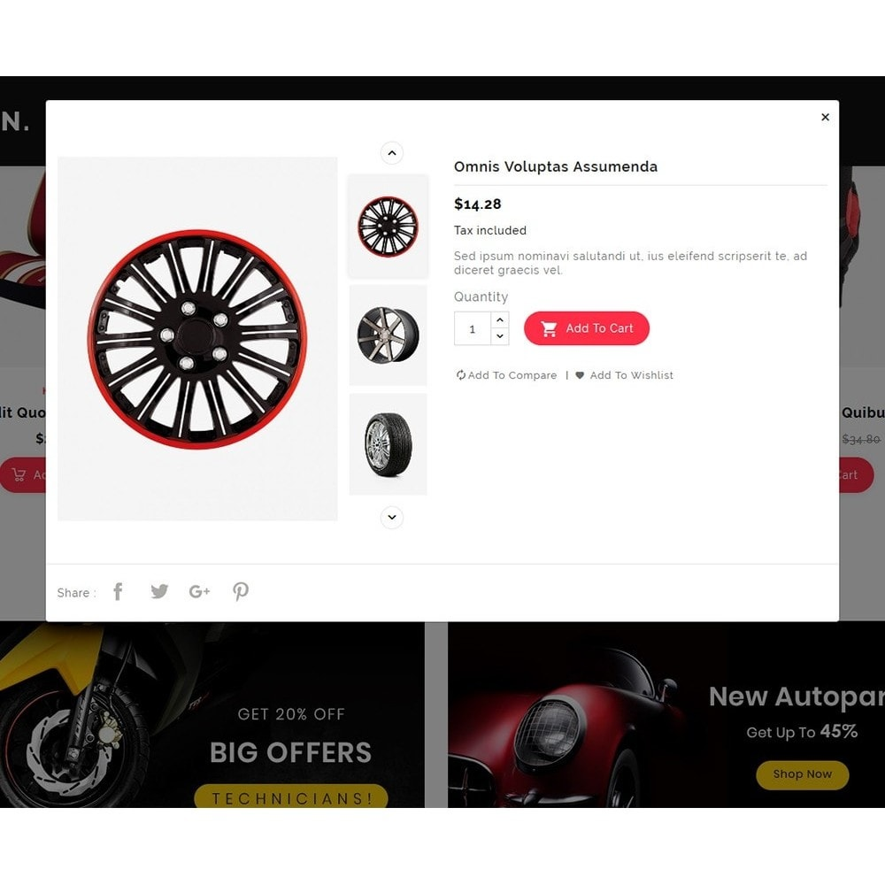 theme - Automotive & Cars - BigTown Auto Parts - 7