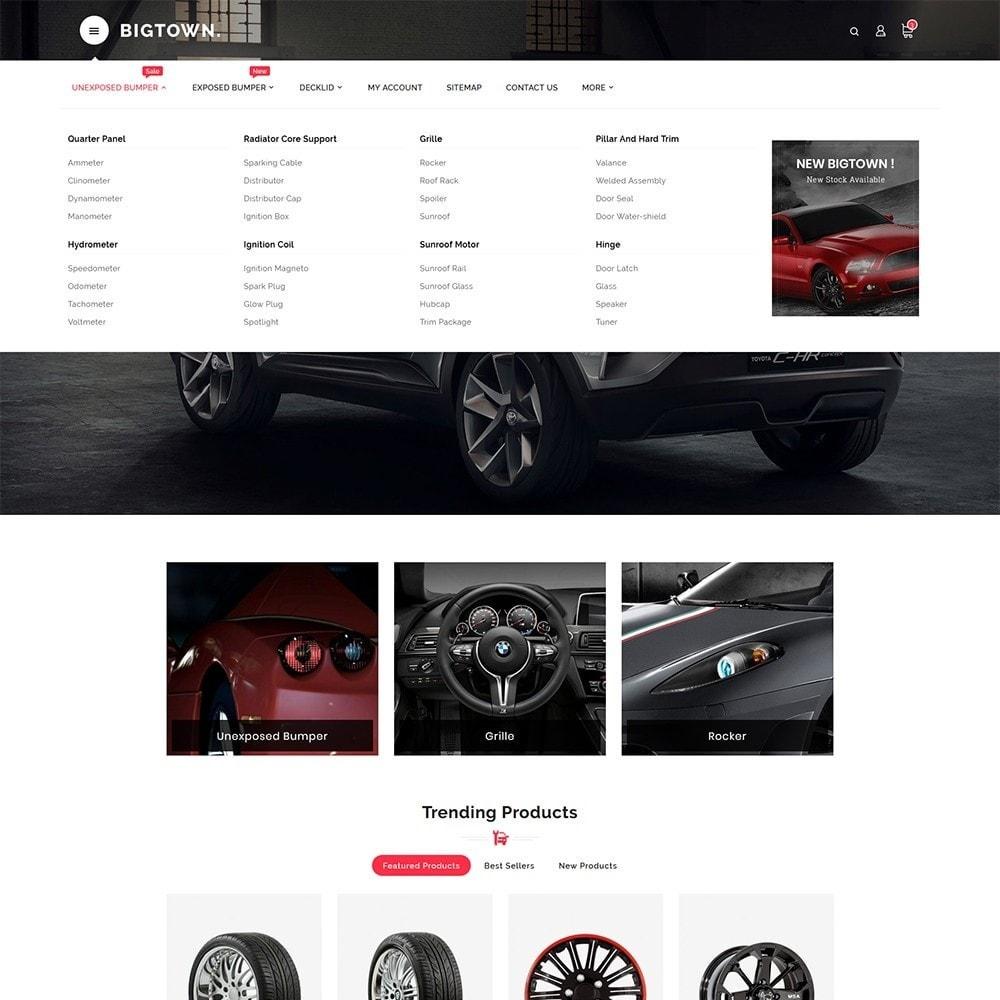 theme - Automotive & Cars - BigTown Auto Parts - 8