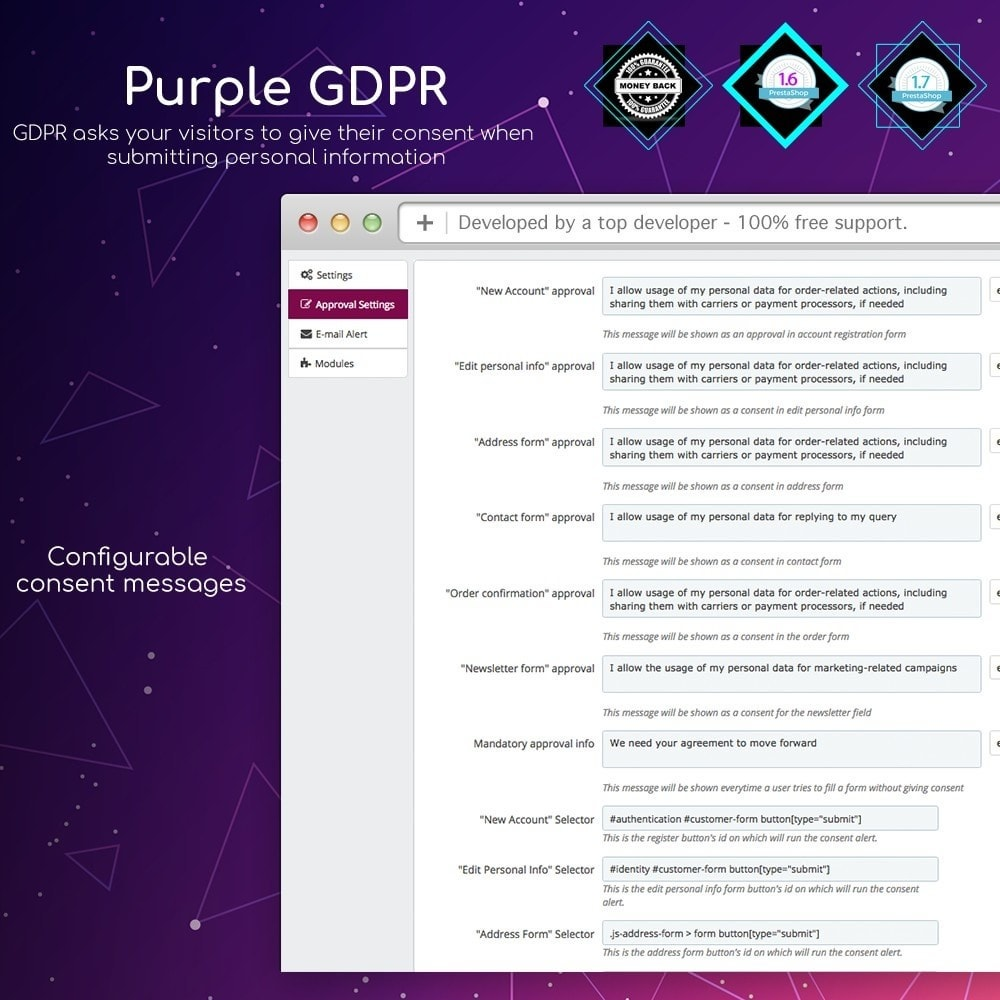 module - Legal - Purple GDPR - 2