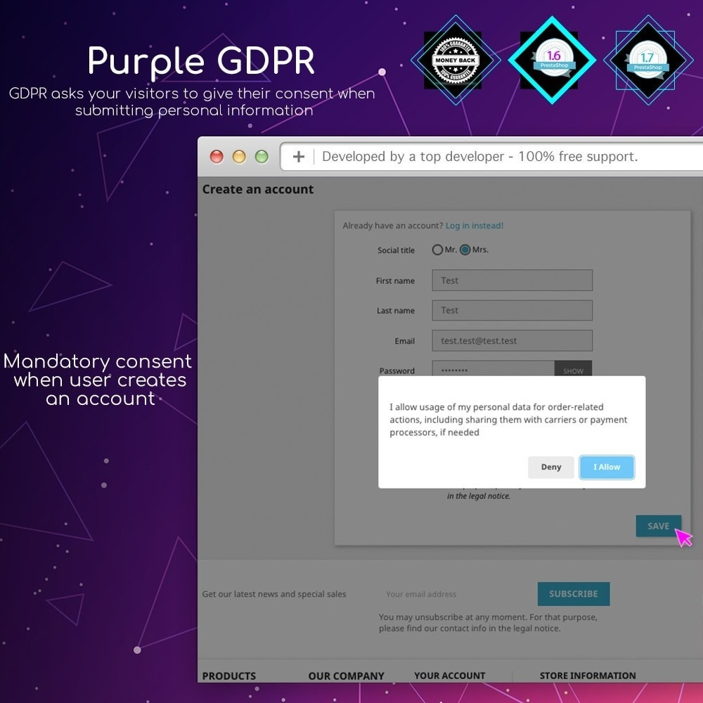 module - Marco Legal (Ley Europea) - Purple GDPR - 6